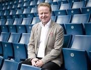 Strahlt vor dem Heimspiel gegen Sion Zuversicht aus: FCL-Sportchef Rolf Fringer. (Bild: Manuela Jans)