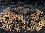 Der Marktplatz von Turku am 19. August, einen Tag nach der Messerattacke, bei der zwei Frauen getötet und acht weitere Menschen verletzt wurden. (Archiv) (Bild: Keystone/AP Lehtikuva/VESA MOILANEN)