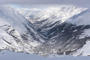 Ein Blick auf Zermatt. (Bild: Keystone)