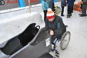 Mike Bucher am Parasliding World Cup in St. Moritz. (Bild: pd)