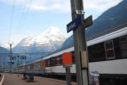 Der Bahnhof Erstfeld soll zu einem Treffpunkt für Bahnfans und Touristen werden. (Archivbild UZ)