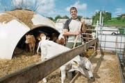 Der Luzerner Landwirt Stefan Hofer (45) will sein Glück in der Slowakei versuchen, weil er in der Schweiz keinen Hof findet. (Bild: Corinne Glanzmann (Römerswil, 16. Juni 2017))