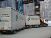 Ein Lastwagen der Firma Fenster Nauer AG. (Bild: PD/fensternauer.ch)