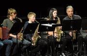 Jungen Musikern soll der Anschluss an die Szene der Erwachsenen erleichtert werden. (Bild: Urs Hanhart (Theater Uri, Trafo-Konzert, 28. Februar 2018))