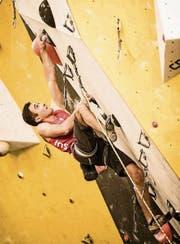 «Mir gefällt die Freiheit, die ich beim Klettern empfinde», sagt Marco Müller. (Bild: davidschweizer.ch)
