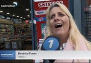 Beatrice Forrer im Interview. (Bild: Tele1)