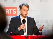 Gilles Marchand wird neuer Generaldirektor der SRG und damit im Jahr 2017 Nachfolger von Roger de Weck. (Archivbild) (Bild: KEYSTONE/CYRIL ZINGARO)