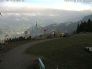 Die Bergungsaktion durch die Rega. (Bild: Webam Rigi Scheidegg)
