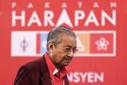 Mahathir Mohamad will Premier von Malaysia werden. (Bild: Fazry Ismail/EPA)