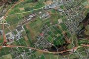 Der Junge war plötzlich aus seinem zu Hause in Gunzgen verschwunden. Jetzt ist er wieder aufgetaucht. (Bild: maps.search.ch)