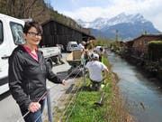 Projektinitiantin Irena Zurfluh-Müller freut sich, dass die Bauarbeiten begonnen haben. (Bild Urs Hanhart)