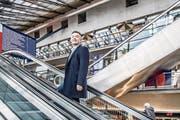 Hofft, dass der Durchgangsbahnhof 2035 eröffnet werden kann: der Nidwaldner Ständerat Hans Wicki. (Bild: Nadia Schärli (Luzern, 10. Januar 2018))