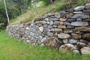 Eine Trockenmauer. (Bild: PD)