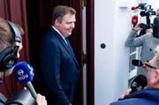 Wegen den «Panama Papers»: Islands Minister Sigmundur David Gunnlaugsson tritt zurück. (Bild: EPA)