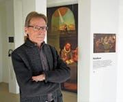 Kurator und Leiter Urs Sibler im Museum Bruder Klaus. (Bild: Romano Cuonz (Sachseln, 15. Dezember 2017))