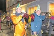 An der alten Fasnacht in Flüelen ist die letzte Katzenmusik in Uri zu hören. (Bild: Christof Hirtler (Flüelen, 17. Februar 2018))