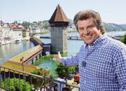 2014 präsentierte Andy Borg das «Best of Musikantenstadl» aus Luzern. (Bild: SRF / Emanuel Ammon)