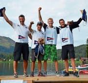 Der Segelclub Cham gewinnt den Final der Challenge League. (Bild: Claudia Somm (Davos, 27. August 2017))