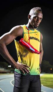 Er hält sich für den Grössten – und ist es in der Leichtathletik derzeit auch: Usain Bolt. (Bild: Getty/Robert Beck)