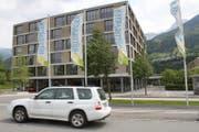 Das Alters- und Pflegeheim Rüttigarten in Schattdorf. (Bild: Markus Zwyssig (Schattdorf, 18. Mai 2017))