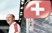 Heinz Moser: «Für uns wäre die Qualifikation für diese EM ein besonderer Erfolg.» (Bild: Urs Lindt/Freshfocus (Biel, 2. September 2016))