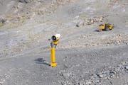 Zwischen Stans und Trübsee wurden neue Leitungen für die Schneekanonen verlegt. (Bild: Philipp Unterschütz)