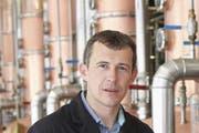 Adrian Affentranger, CEO der Diwisa Distillerie in Willisau.