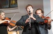 Ein überragendes Talent: Leichtigkeit, Charme und Witz begleiten die Auftritte des Klarinettisten Sebastian Manz.