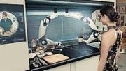 Die Roboterküche «Moley» kocht voll automatisiert. (Bild: PD)