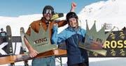 Samuel Walker und Gina Zopp sind die neuen «Könige» am Gemsstock (Bild: PD)