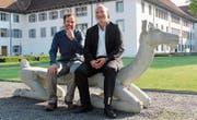 Sie sind Kommunalpolitiker aus Überzeugung: Hans-Peter Budmiger (links, Muri) und Michel Greber (Bettwil).