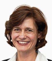 Die Präsidentin der Obwaldner SVP: Monika Rüegger. Bild: PD