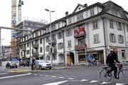Die Häuser beim Gubelloch sollen abgerissen werden. (Bild: Werner Schelbert / Neue ZZ)