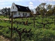 Winteransicht vom «Holiday Cottage» auf dem Weingut Jacaranda. (Bild: PD)