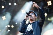Xavier Naidoo wird doch nicht für Deutschland am Eurovision Song Contest auftreten. Im Bild: Naidoo an einem Konzert in Mannheim. (Bild: EPA/ Uwe Anspach)