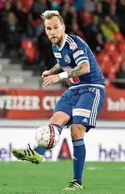 Spielmacher Markus Neumayr will mit dem FCL Platz 3 erreichen. (Bild: Martin Meienberger (Sion, 5. April 2017))