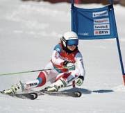 Eliane Christen holt am Super G auf dem Stoos mit Rang 2 wertvolle FIS-Punkte. (Bild: Archiv Swiss Ski)