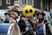 In Schattdorf sind am Samstag diverse Katzenmusiken unterwegs. (Bild: Urs Hanhart)