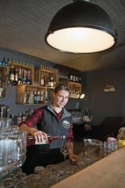 Isabel Kretz ist Geschäftsführerin von Laden und Bar. (Bild: Corinne Glanzmann, Melchsee-Frutt, 10. Januar 2018)