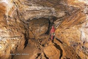 Der Umkehrpunkt der Höhlentour im sogenannten «Wanderweg» der Schrattenhöhle. (Bild: Lauber/NeKO-Stiftung)