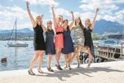 Endlich geschafft: Die PH Luzern hat dieses Semester 302 frischgebackene Lehrerinnen und Lehrer diplomiert. (Bild: Philipp Schmidli/LZ, Luzern, 8. Juli 2017)