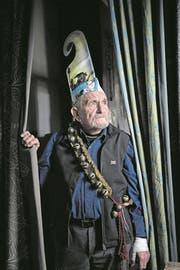 Hat auch mit 84 noch Freude am Geiggeln: José de Nève. (Bild: Corinne Glanzmann (Oberdorf, 28. November 2017))