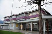 Das Schulhaus Dossen in Kerns. (Bild: Markus von Rotz (Kerns, 10. November 2017))