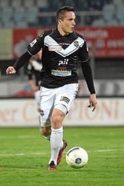 Marko Basic im Trikot des FC Lugano. (Bild: Keystone/Gabriele Putzu)
