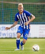 ... Hertha Berlin mit dem Luzerner Fabian Lustenberger sind mögliche Gegner des FC Luzern. (Bild: Getty)
