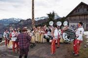 Auftritt der Guugge Ribi-Häxä (Bild: Richard Greuter (NZ) (Neue Nidwaldner Zeitung))