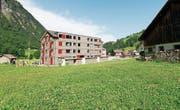 Bei der Überbauung Brunnital ist ein zweites Wohnhaus mit Alterswohnungen geplant. (Bild: Florian Arnold (Unterschächen, 19. Juli 2017))