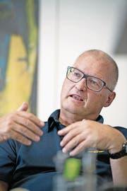 Peter Gautschi amtete 14 Jahre lang als Leiter der Abteilung Militär und Bevölkerungsschutz in Obwalden. (Bild: Corinne Glanzmann (Sarnen, 25. April 2017))