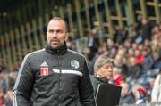 Bereits drei Saisonniederlagen setzte es gegen Basel ab. FCL-Trainer Markus Babbel hat genug davon. (Bild: Keystone)