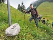 Sprachforscher Felix Aschwanden half bei der Umsetzung des Urner Mundartwegs. (Bild Urs Hanhart)